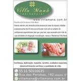 clínicas dia para idosos dependentes Vila Guilherme