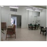 clínica de idoso de luxo