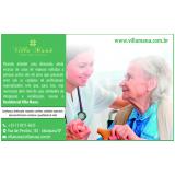quanto custa casa de idoso com assistência médica Sacomã